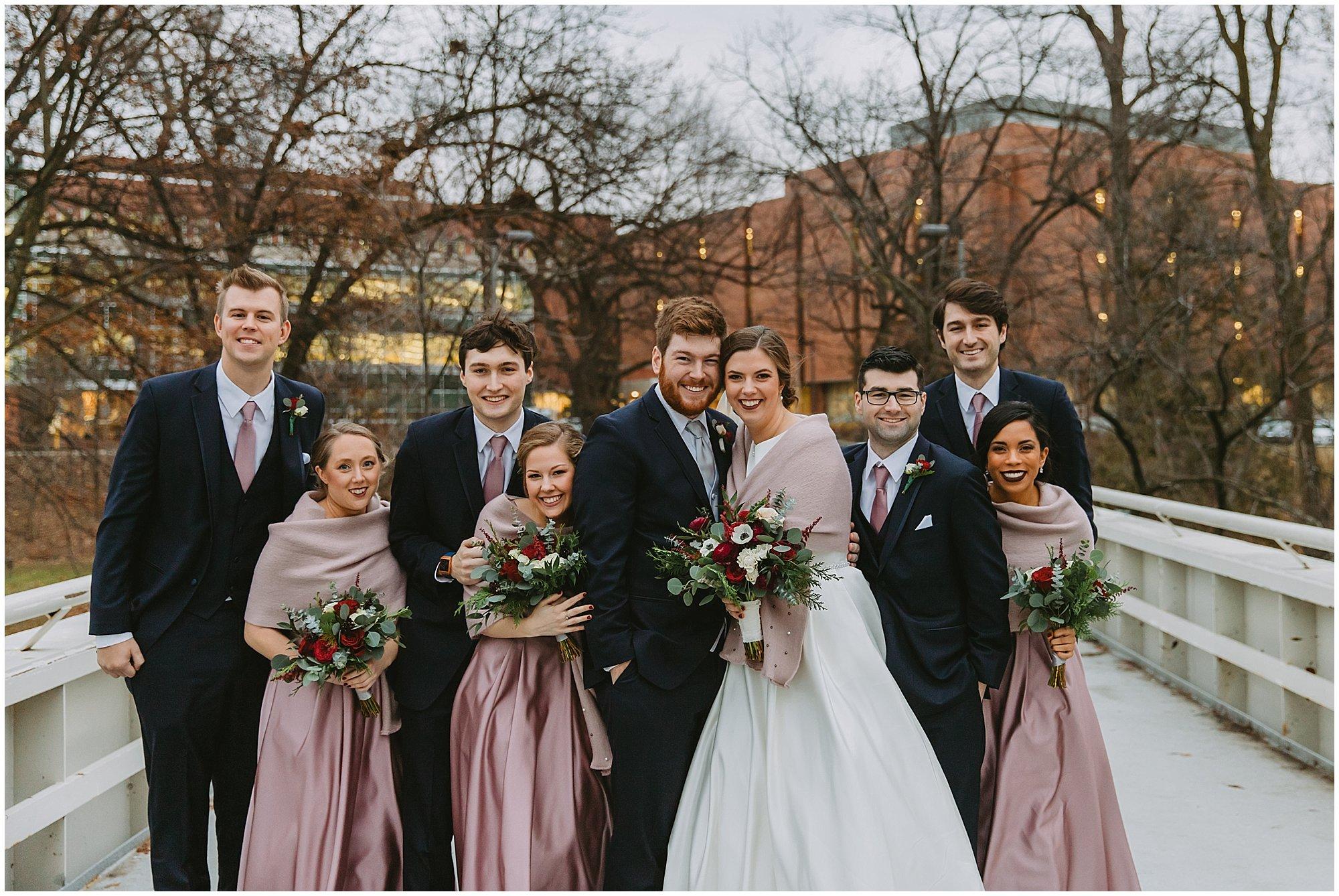 Michigan State Wedding Party
