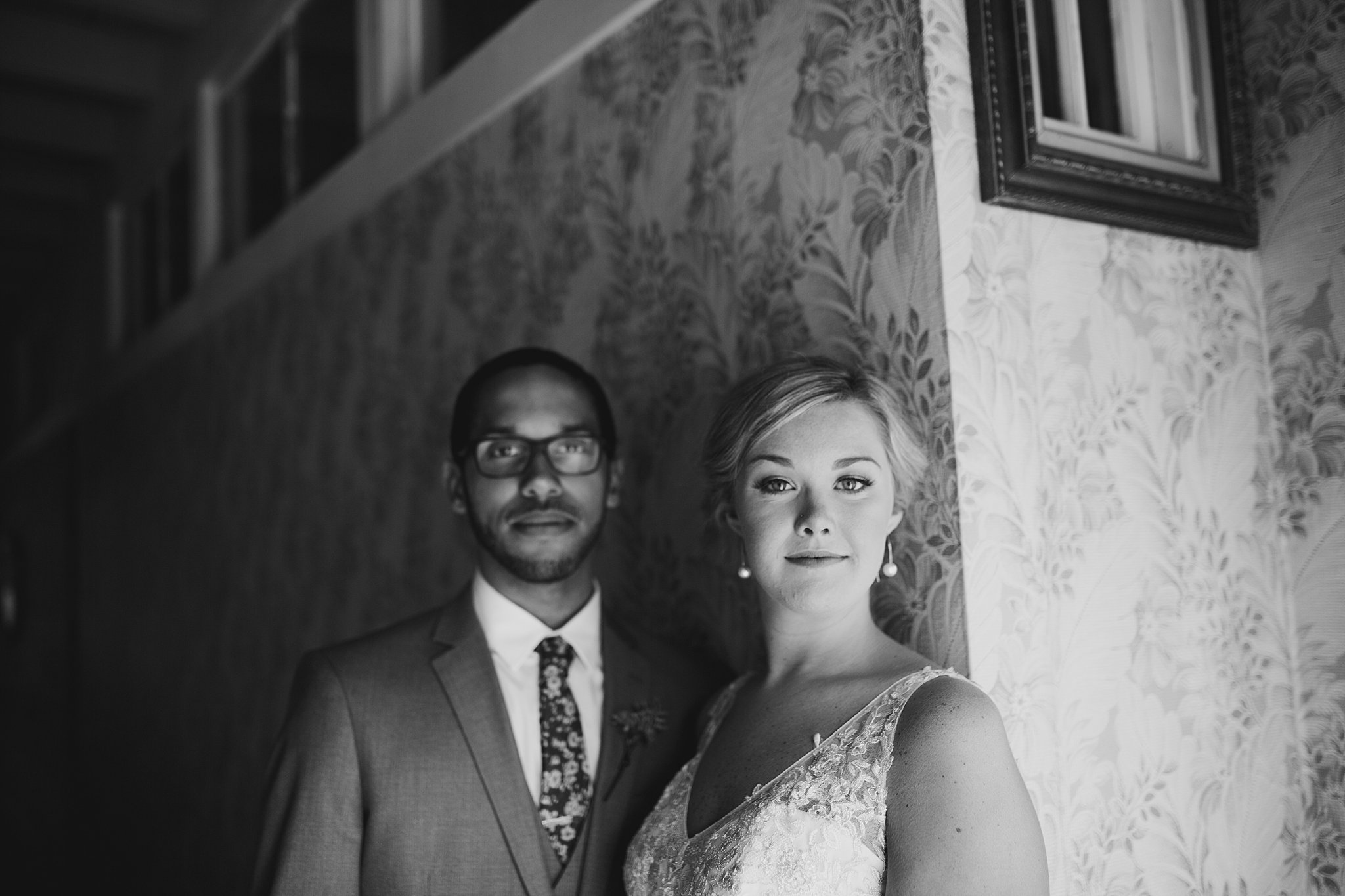 bride and groom sundance studios wedding
