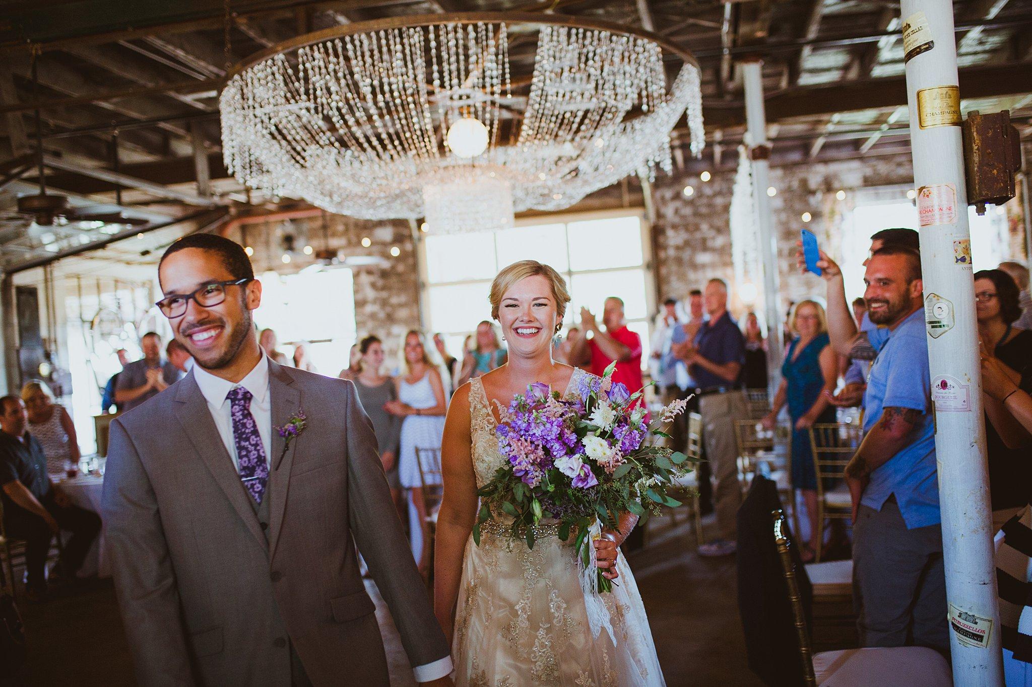 sundance studios benton harbor wedding reception entrance