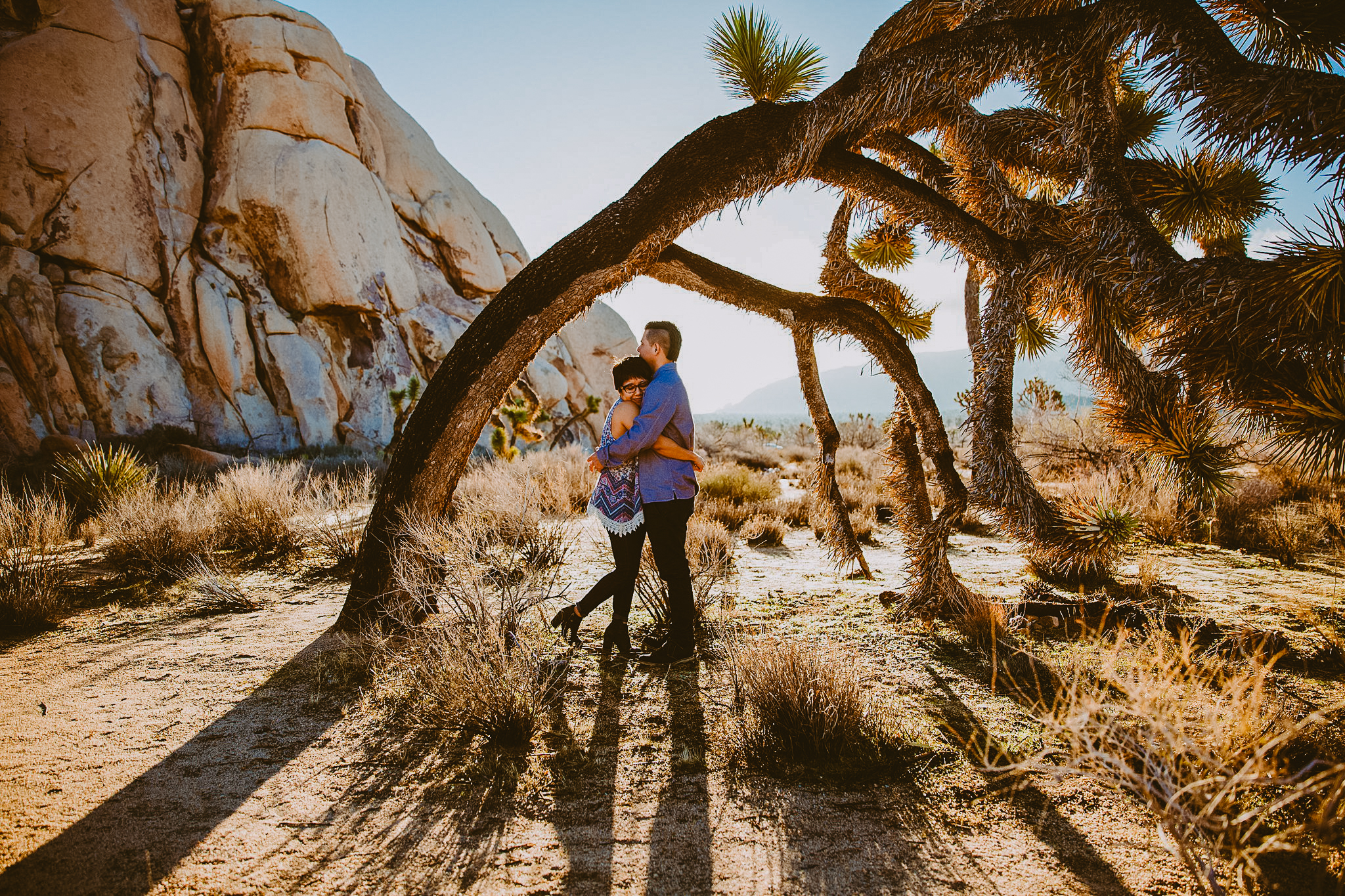 joshua tree elopement destination wedding photographer
