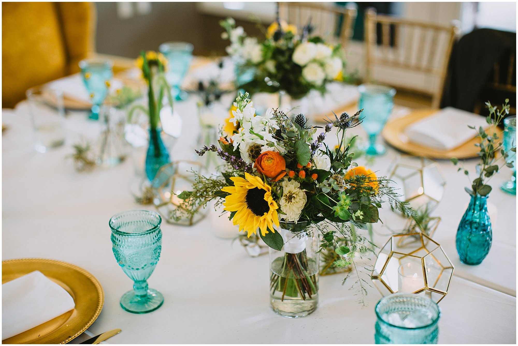 boho reception decor wedding camp blodgett