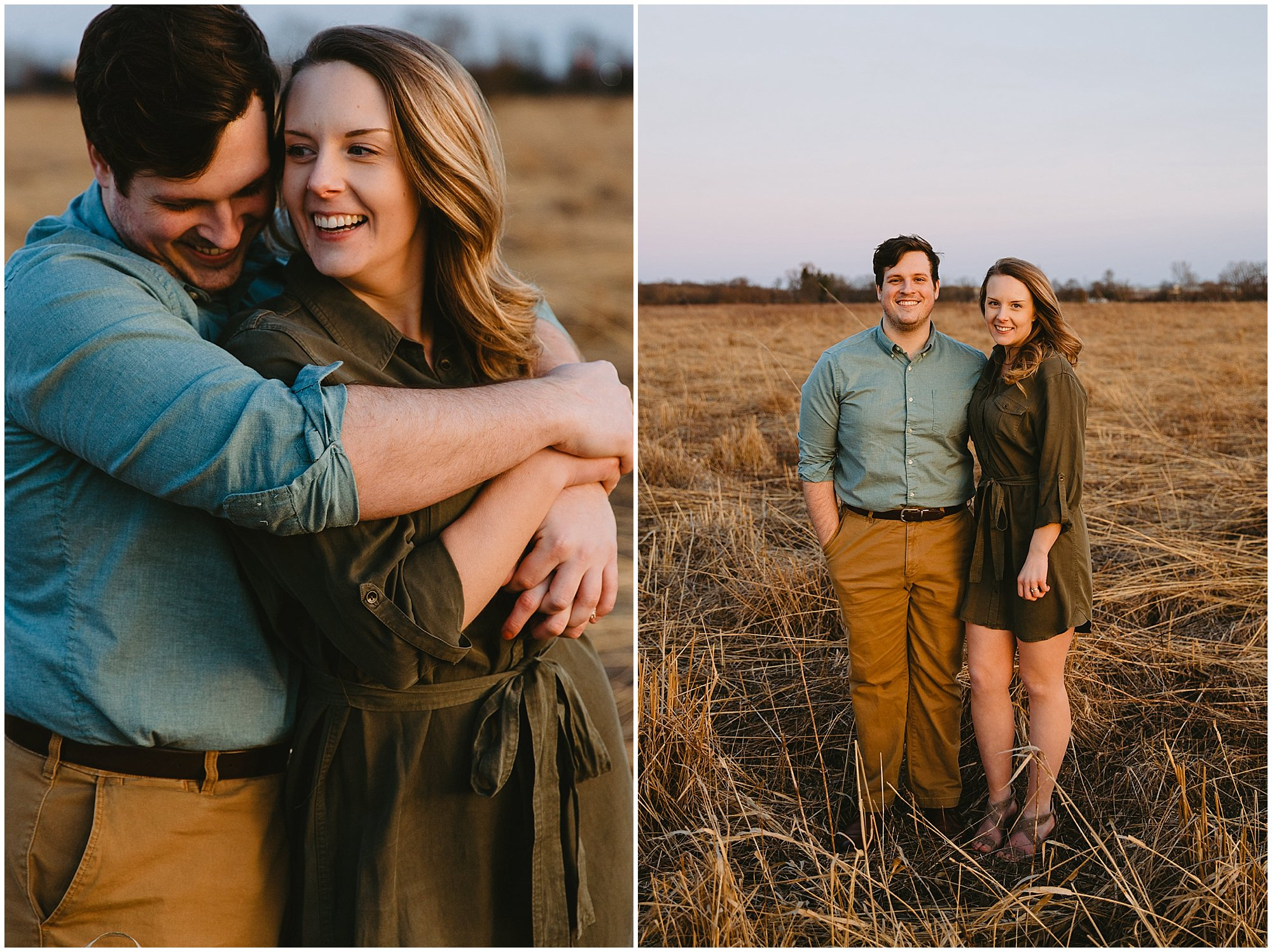 Asylum Lake Kalamazoo Engagement photography