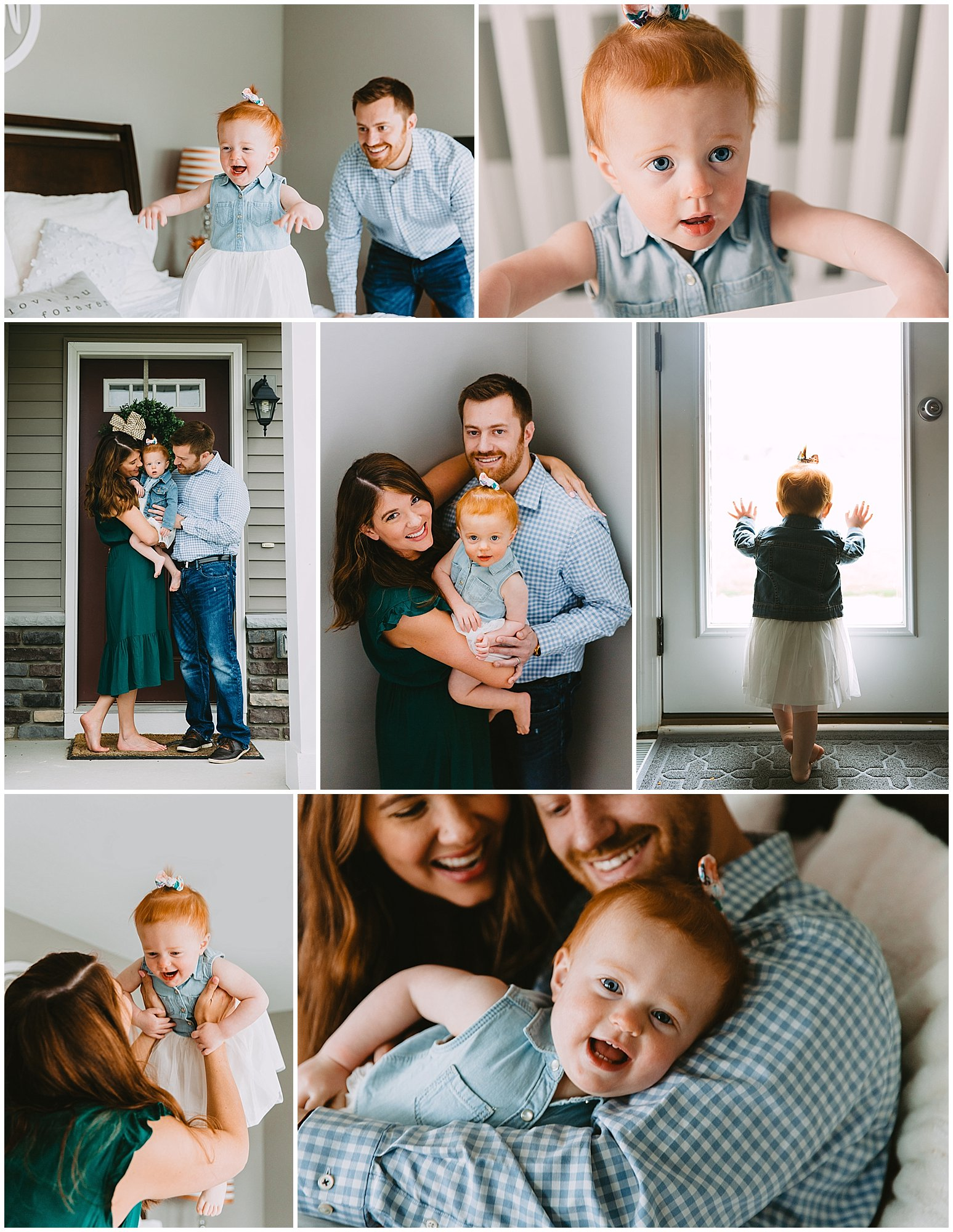 In Home Family Sessions - Celebrate your family where you are most comfortable. Perfect for colder weather and lifestyle newborn sessions. Up to 1 hour session w/edited image files- $350