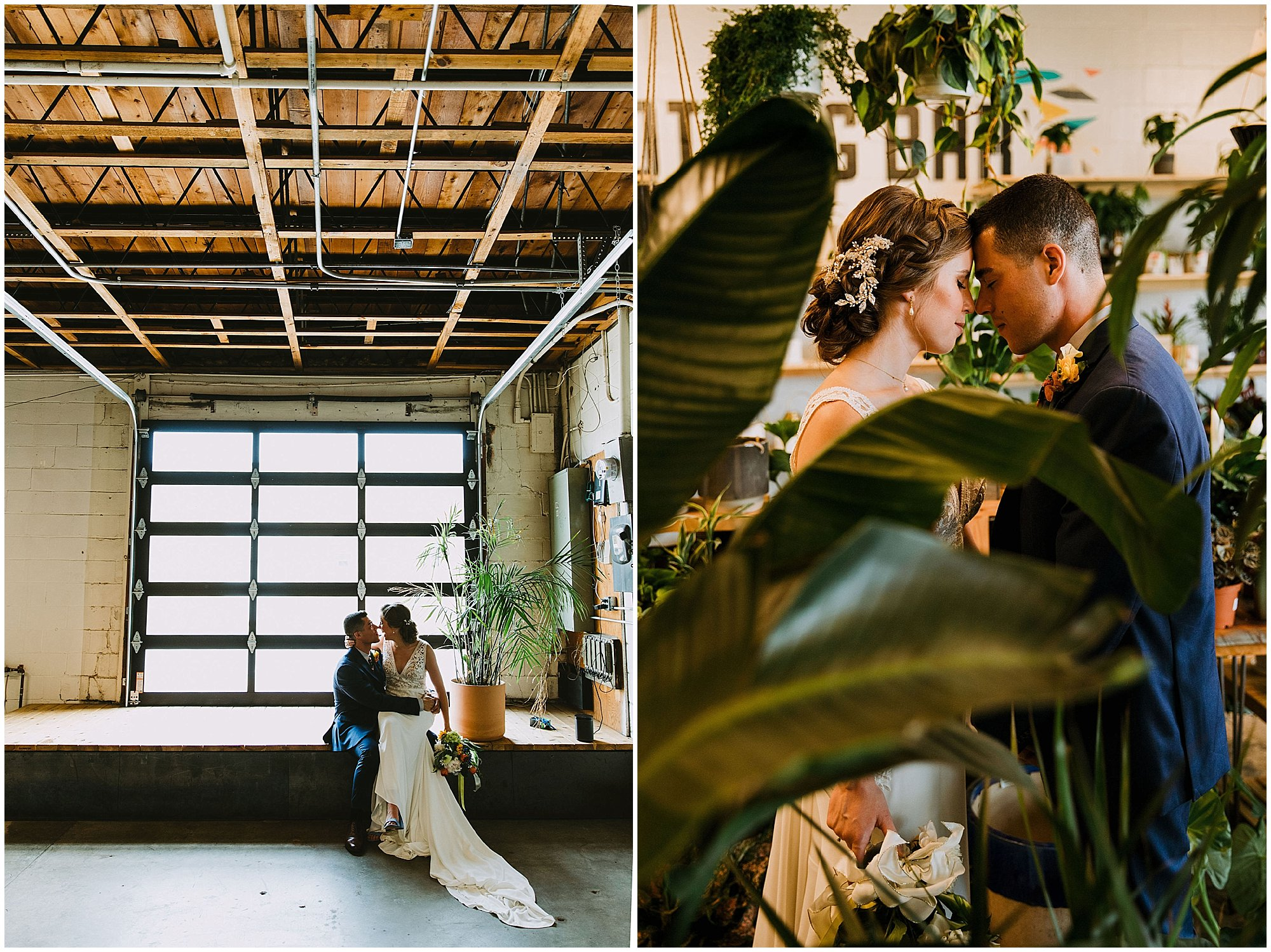 art terrarium des moines wedding
