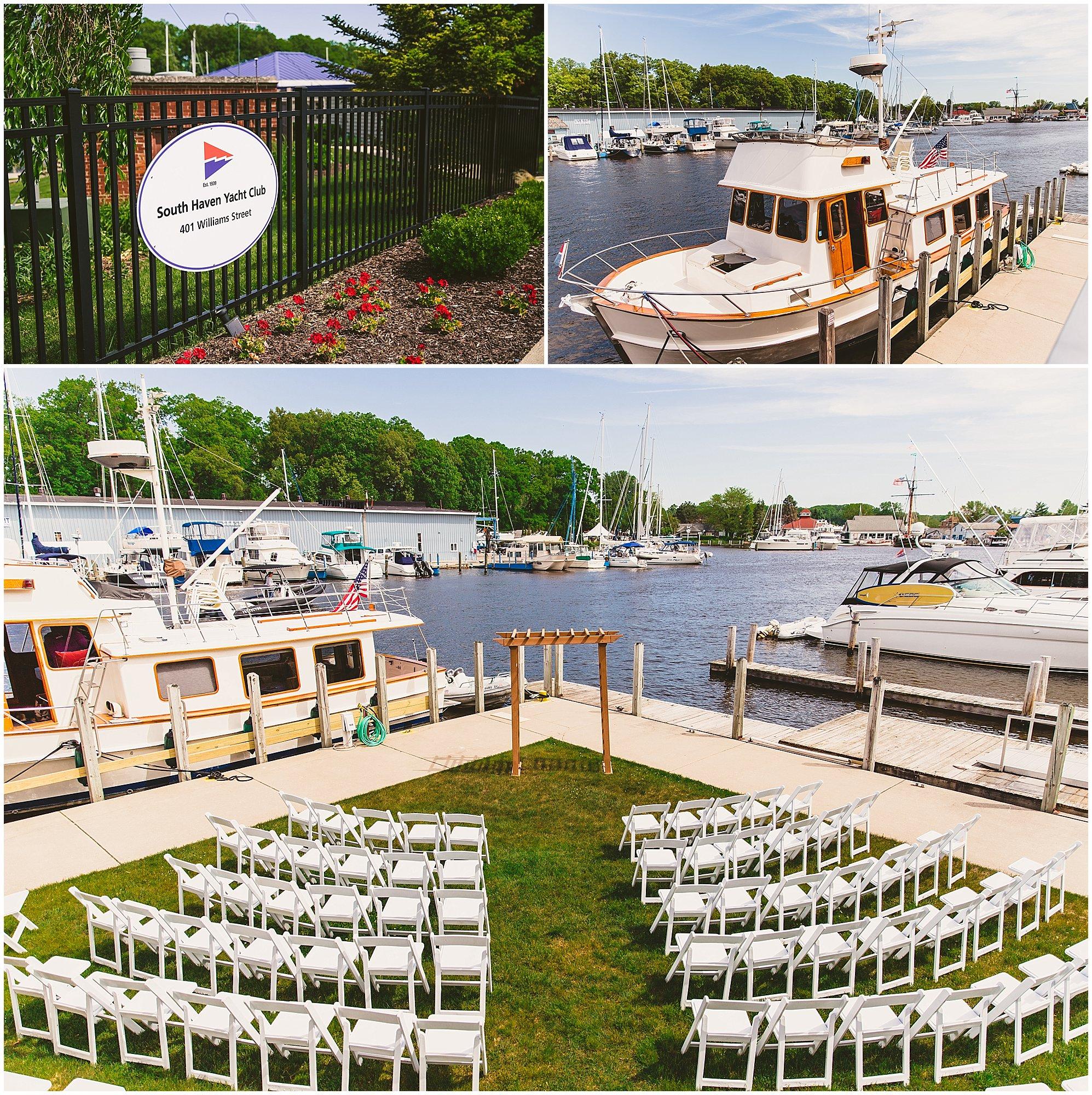 Tyler + Ana / South Haven Yacht Club Wedding — Adventure Photo