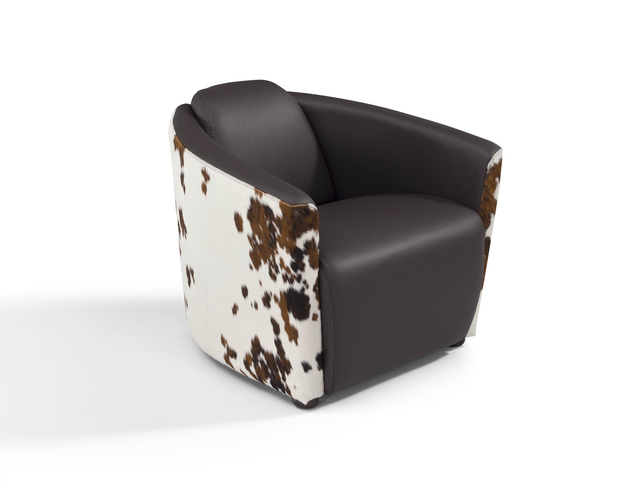 Contemporary Leather Armchair