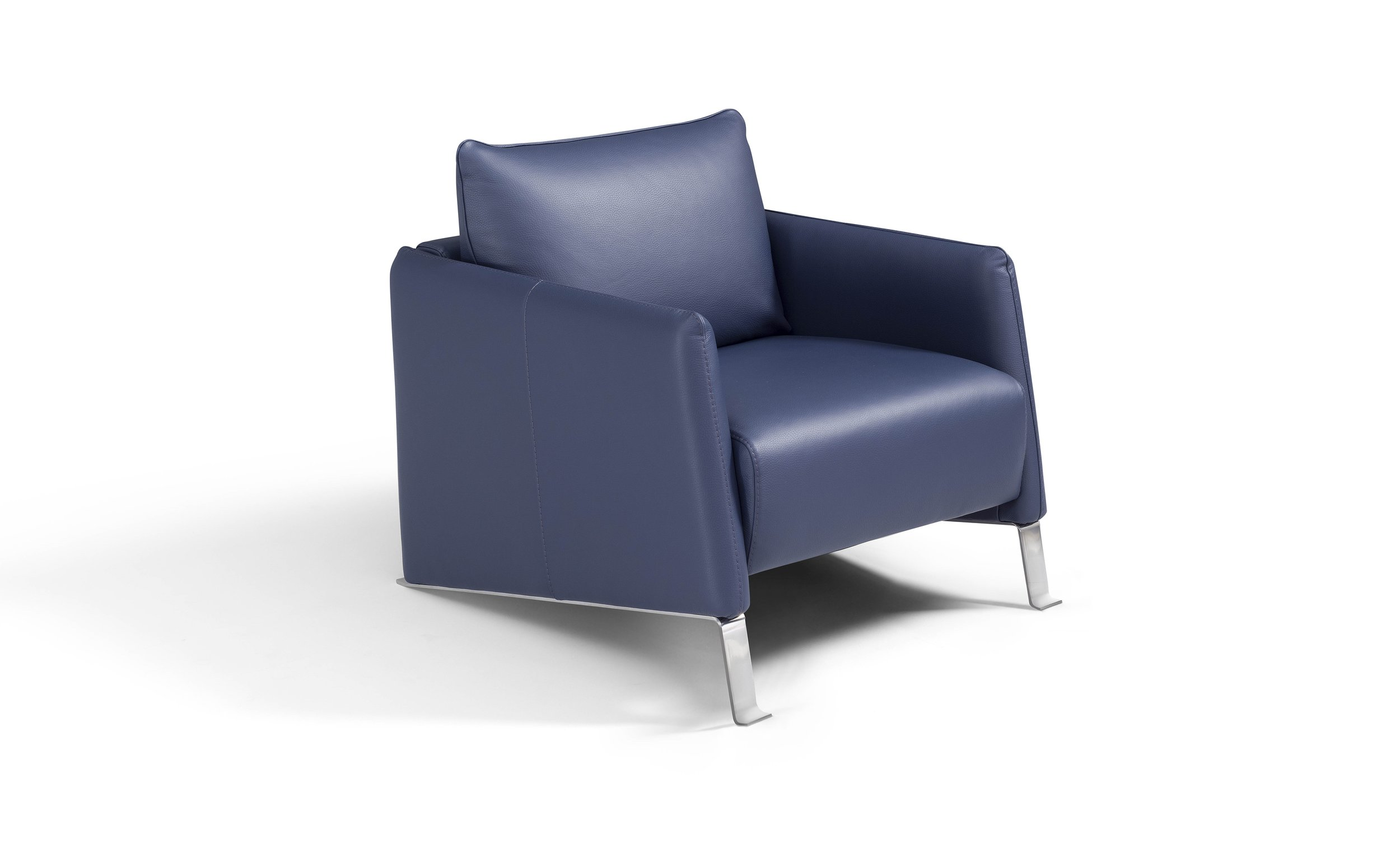 Italian Design Leather Armchair
