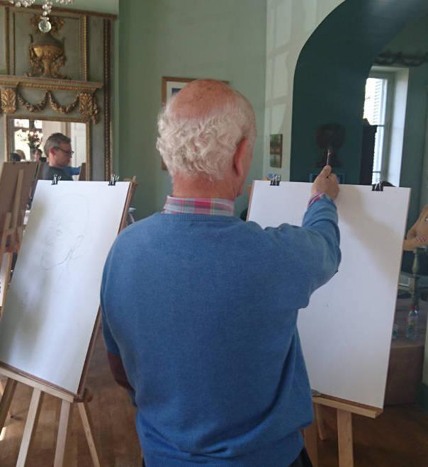 Portrait Drawing April '17