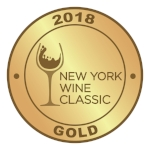 New York Wine Classic Gold Medal 2018