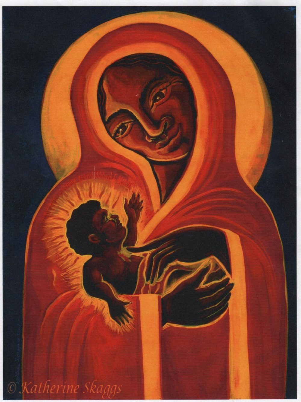 Katherine Skaggs portrait of Black Madonna and Child.jpeg