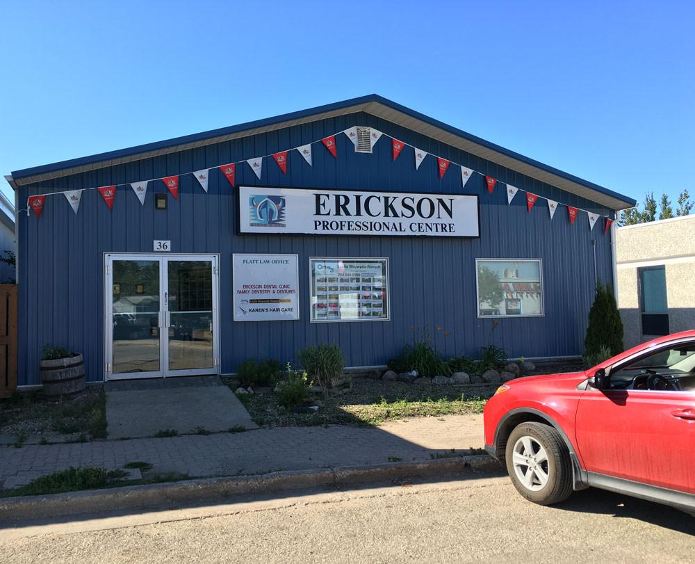 Erickson Professional Centre, home of Platt Law Office
