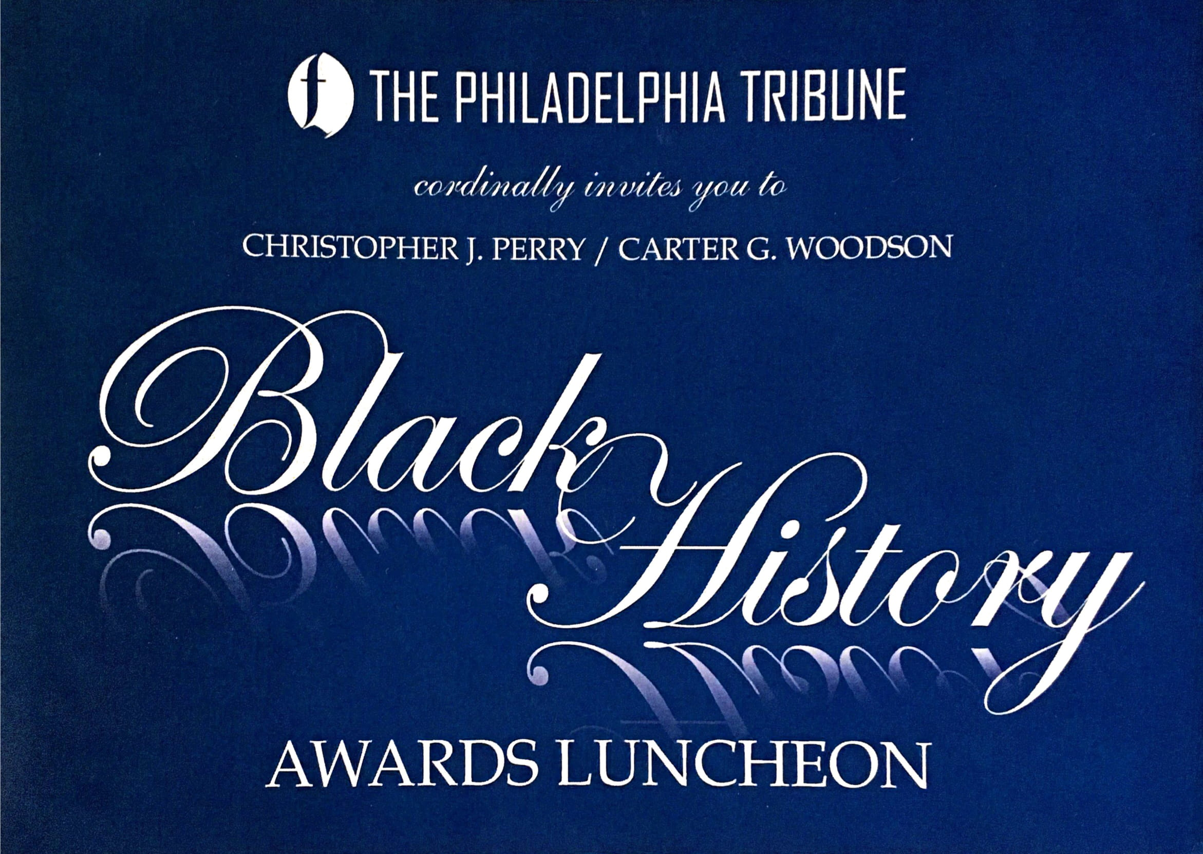 Black History Awards Luncheon