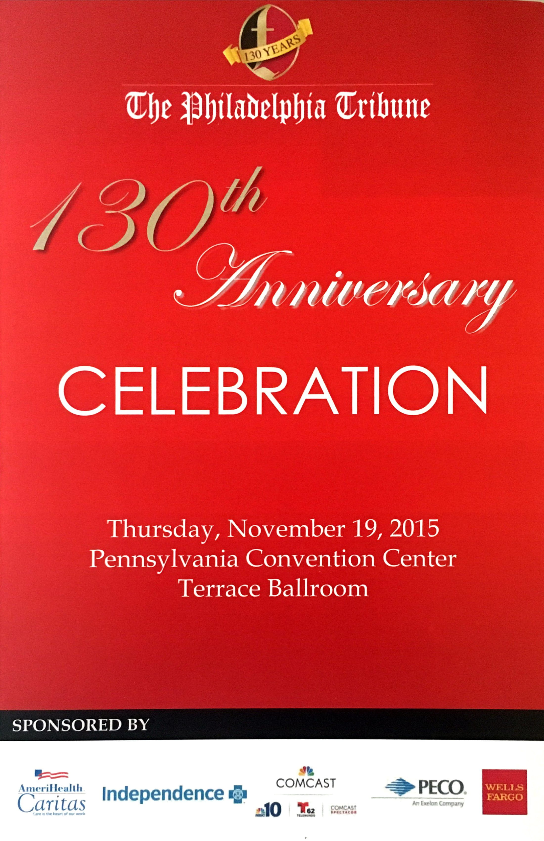 Tribune's 130th Anniversary Celebration