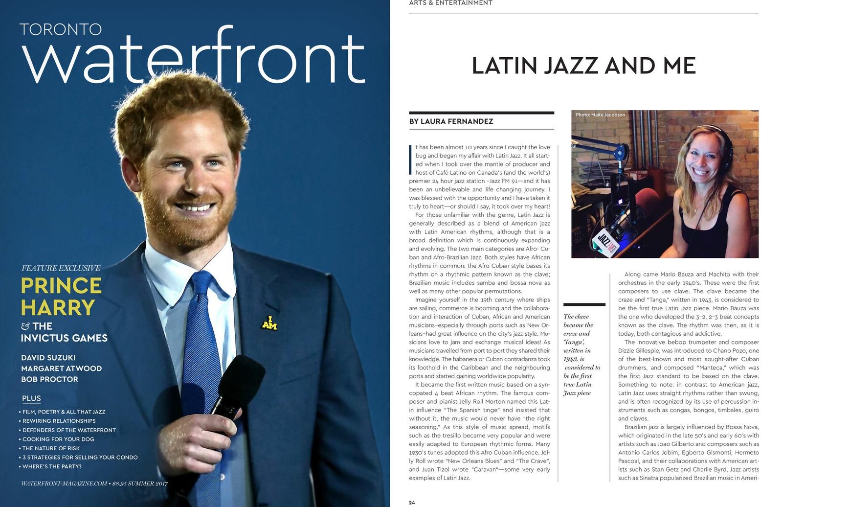 Laura Fernandez - Waterfront Magazine