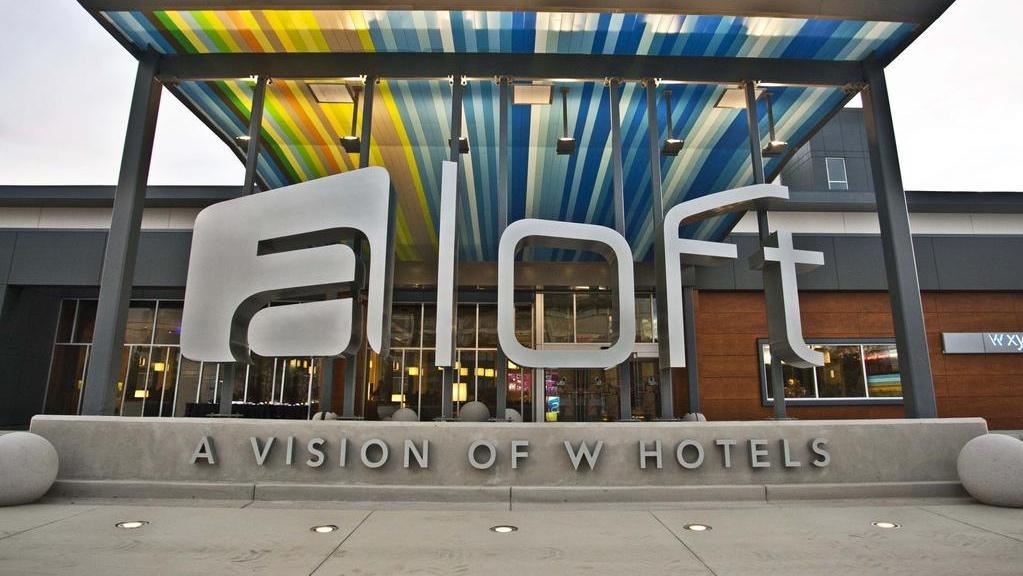Aloft Hotel @ San Francisco Airport  - Millbrae California
