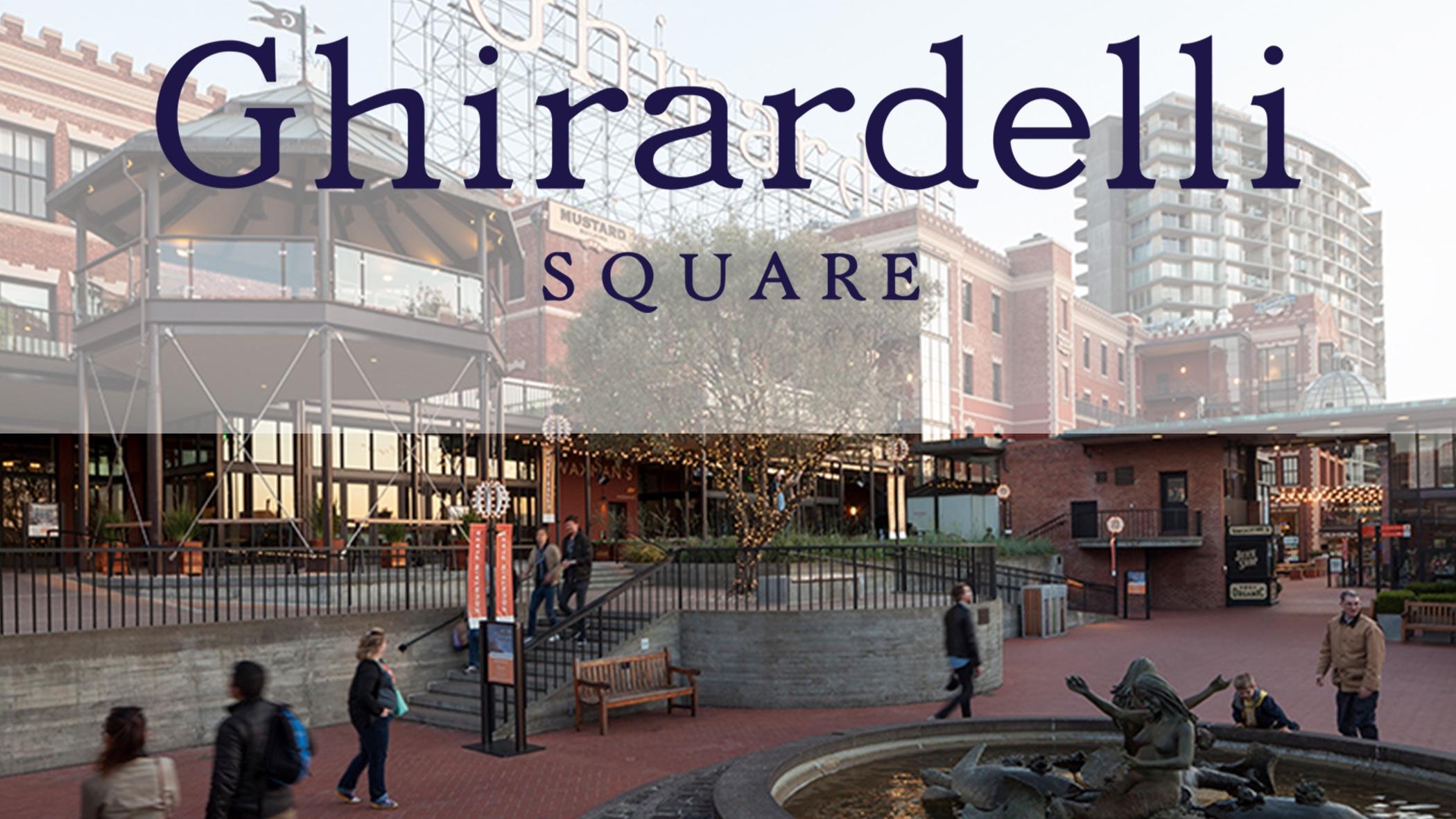 Ghirardelli Square  - San Francisco California - Updates for ADA compliance