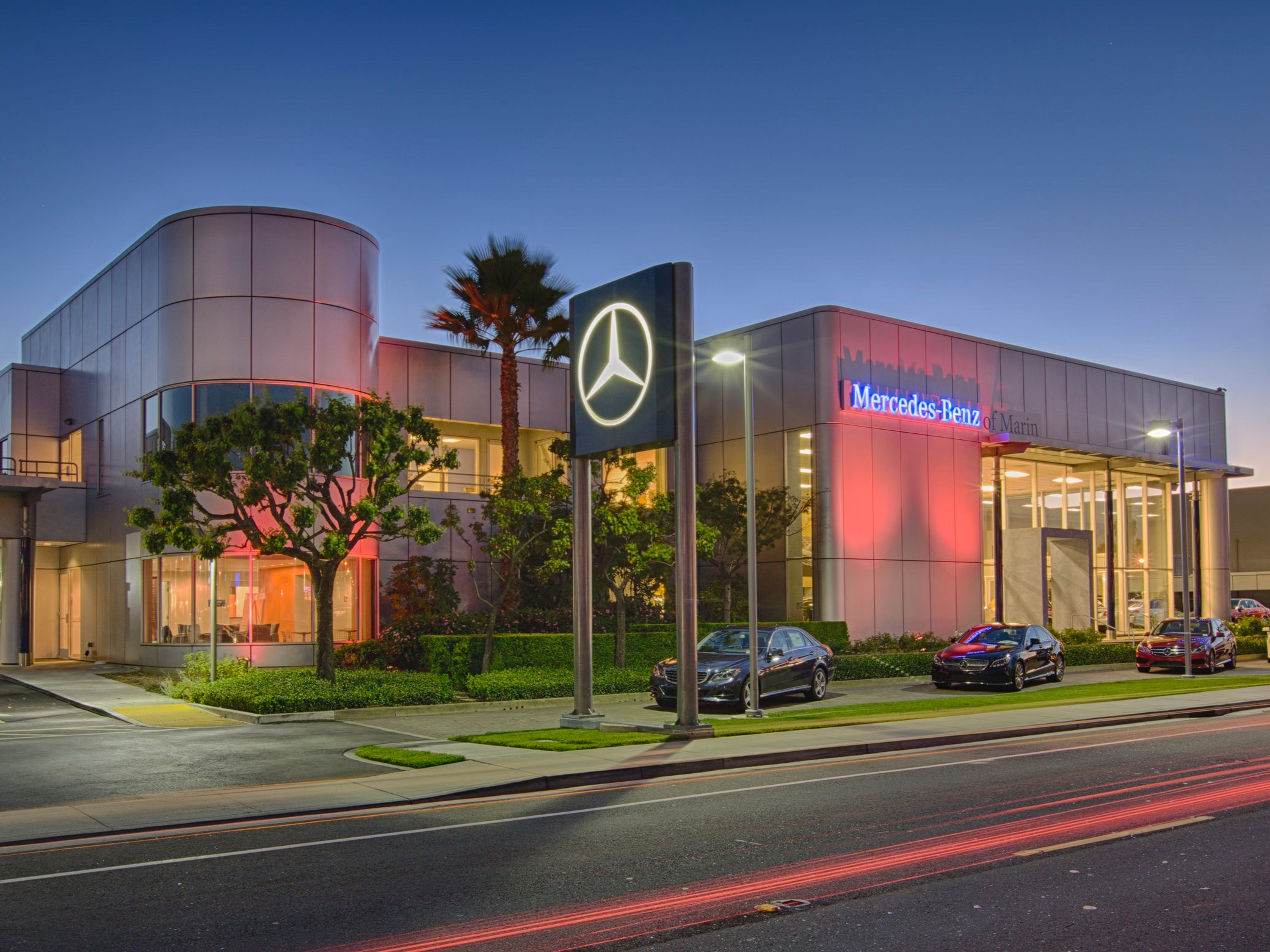 Mercedes Benz of The Bay Area - Whiteside Concrete Construction has been a part of the Mercedes-Benz master franchise expansion process in the Bay Areas. Performing successful franchise structural projects and renovations at the San Francisco, Marin and Fairfield Mercedes-Benz dealerships.