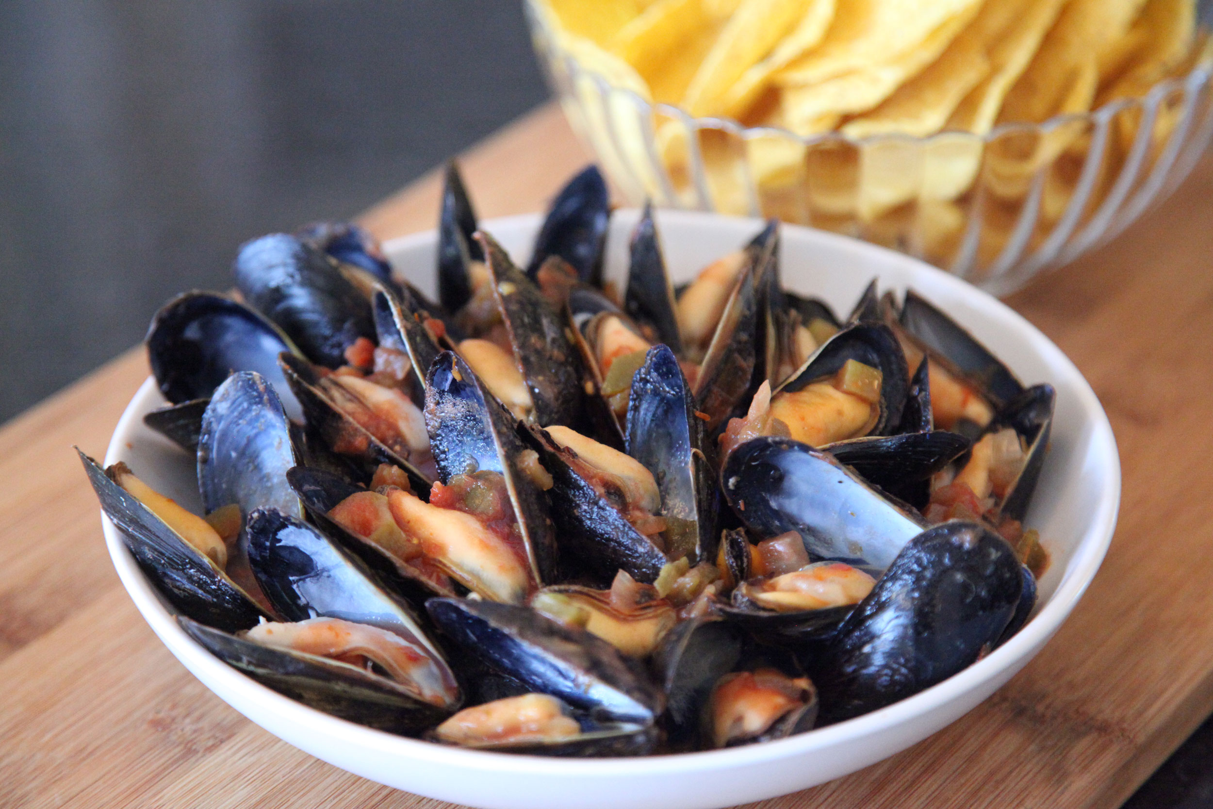 Seafood--Mussels