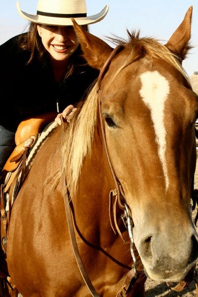 Shillelagh and Laurie riding.jpg
