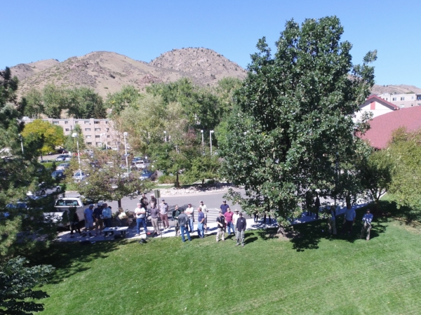 Demonstration for a Front Range Urban Forestry Council meeting in Golden, CO, USA.