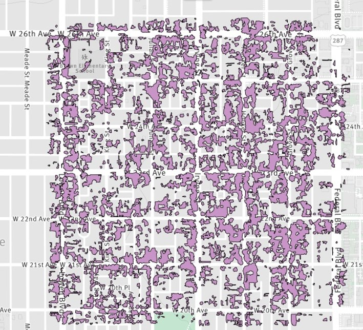 Urban forest canopy cover analyses