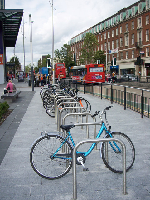 New bicycle parking will be coming to Turner Hall soon  Photo courtesy of Creative Commons