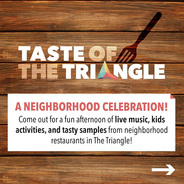 Join us in one week at Taste of The Triangle! Saturday August 18th from 11am - 2pm. Spend an afternoon with your neighbors while tasting samples from participating neighborhood restaurants. Enjoy Live Music by @jonlewismusic and @topherthedreamer! Bring the whole family! There will be a Kids Zone by The Child Care Council and Topher will lead a Drum Circle for the Kids to play together in a band! A huge thank you to @nwrochester whom is supporting this event as part of our final year in the Healthy Blocks program. 🤞for great weather! #trythetriangle #neighorhood #blockparty #neighborworks @northwintonvillage #supportlocal #rochester #rochesterny