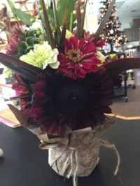 Chocolate Sunflower~ PERFECT in Fall!