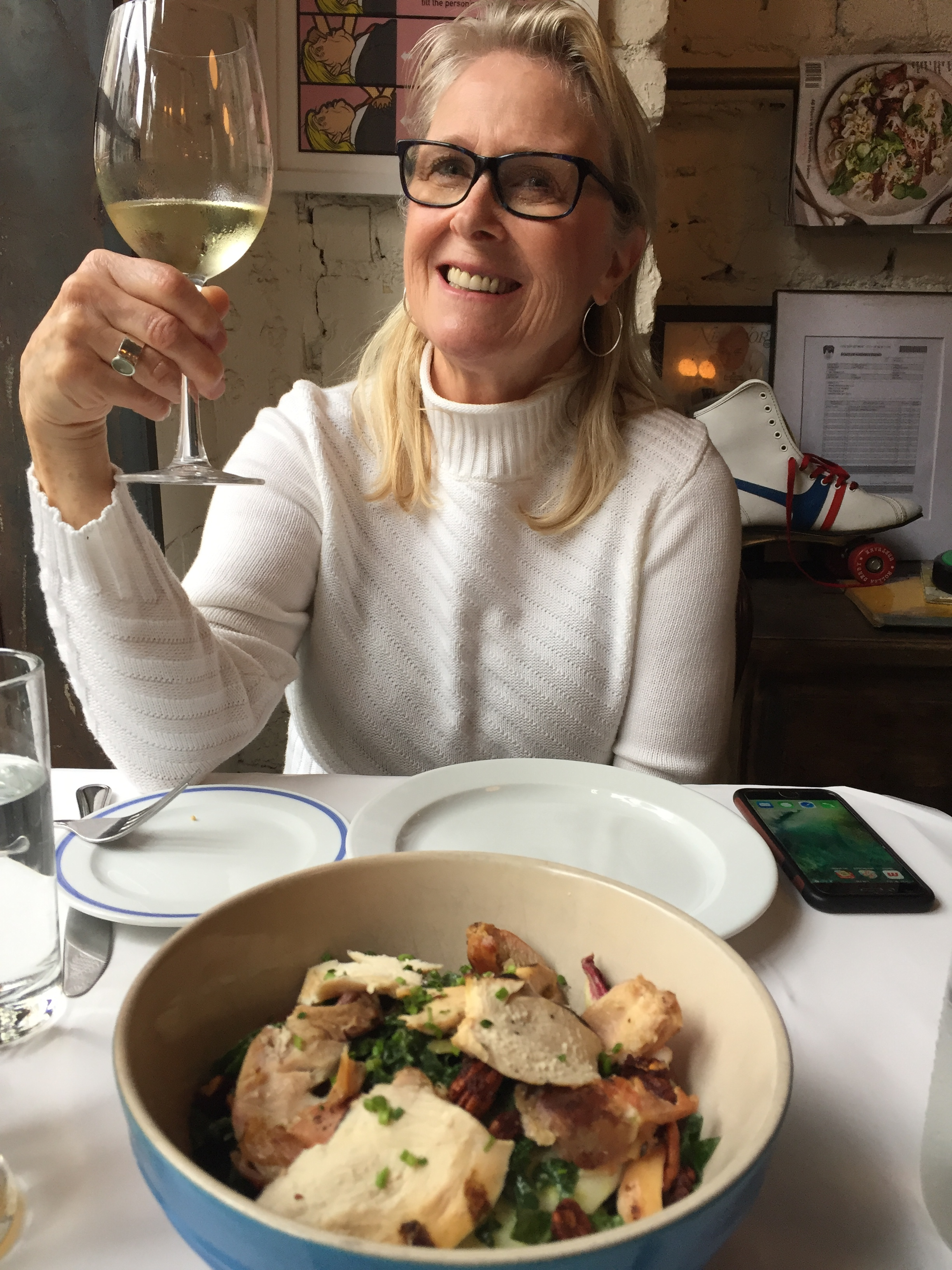 Good food and wine in SoHo