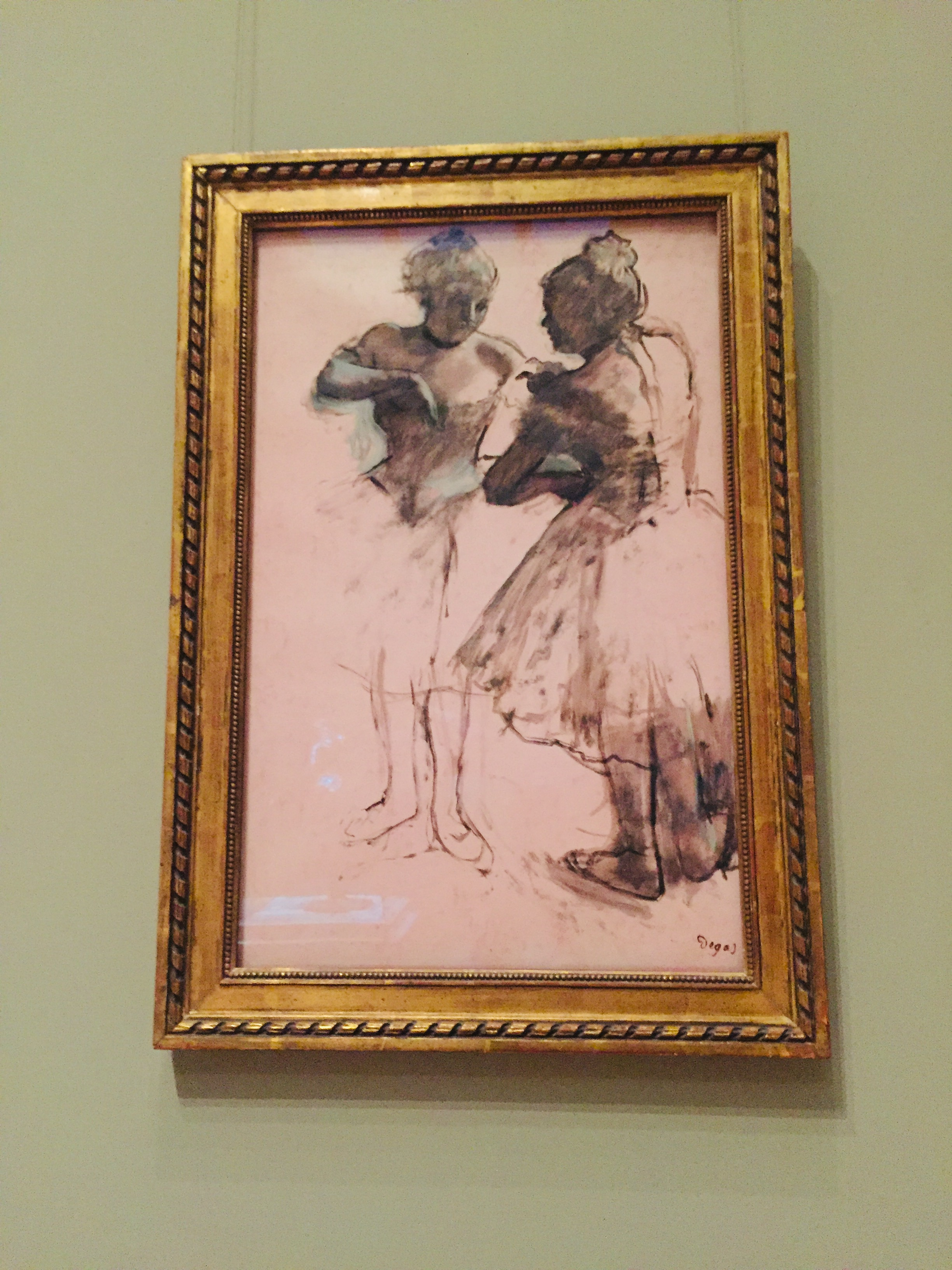 one of my favourite Degas at the MMFA