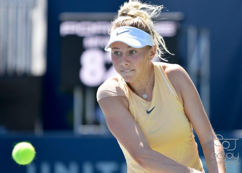 Copy of Amanda Anisimova defeats Madison Brengle on August 1 at Mubadala Silicon Valley Tennis Classic