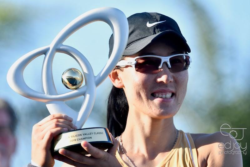 Copy of Zheng Saisai wins Mubadala Silicon Valley Tennis Classic