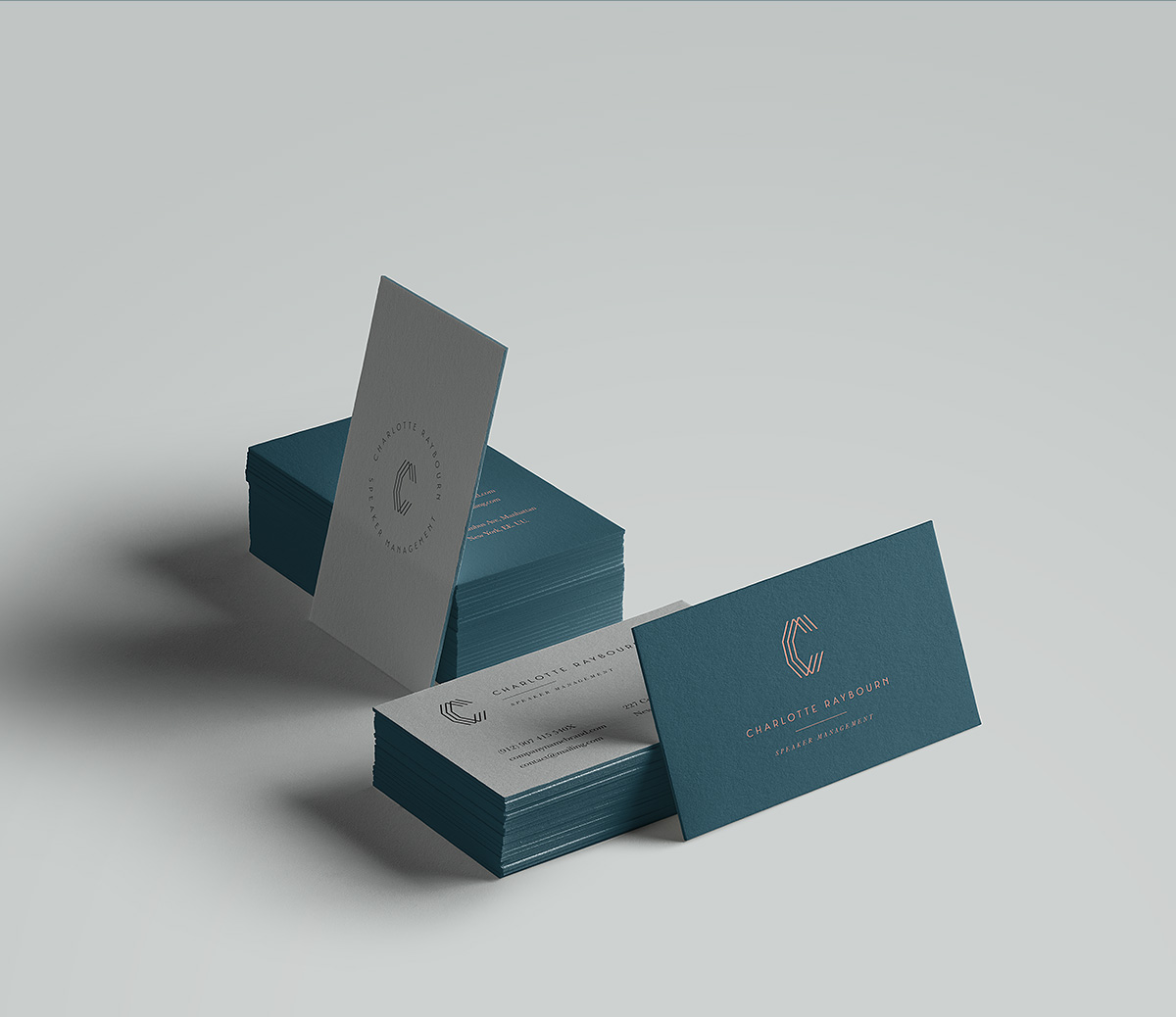 Simon's business cards