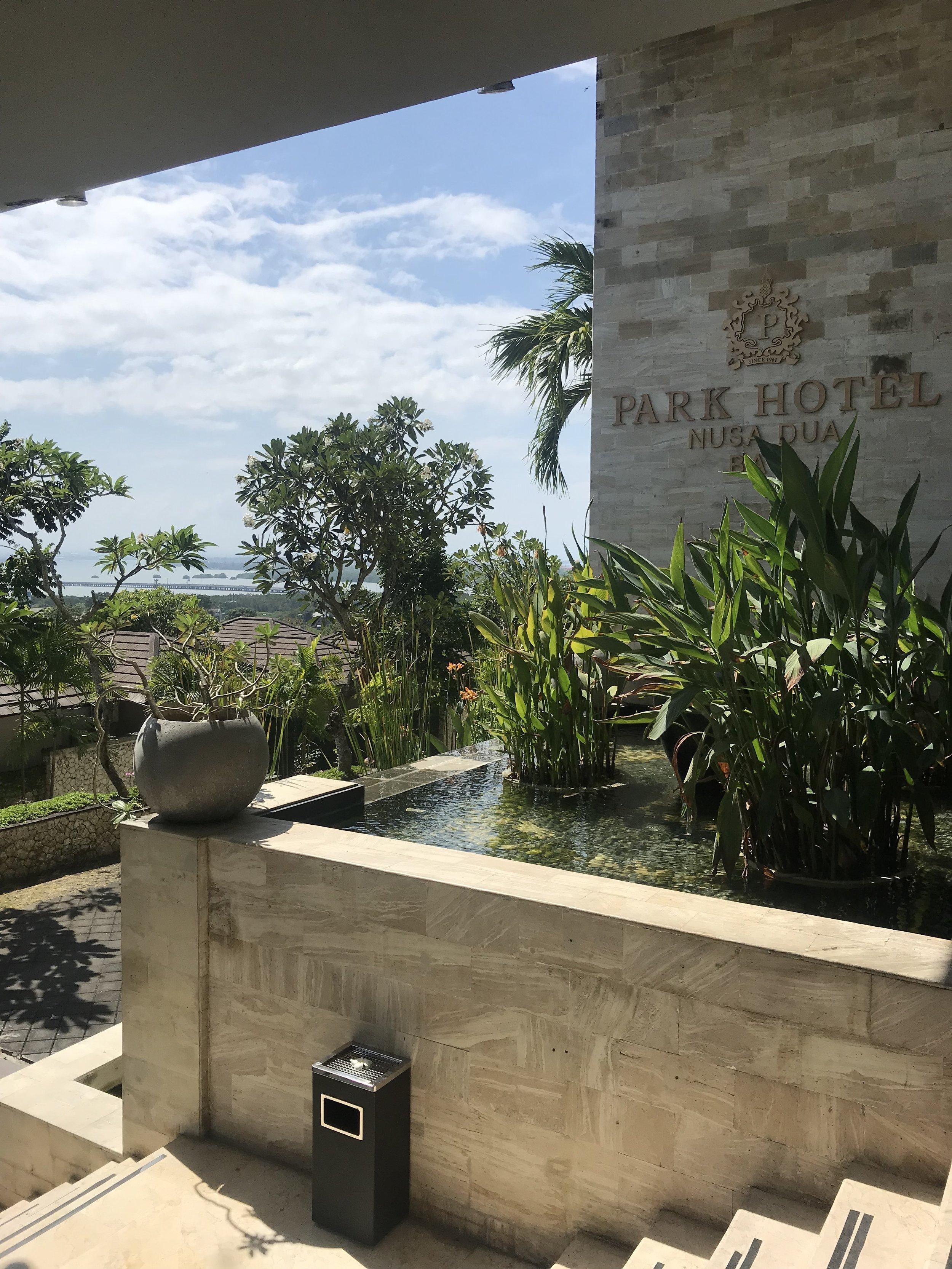 Our hotel in Nusa Dua