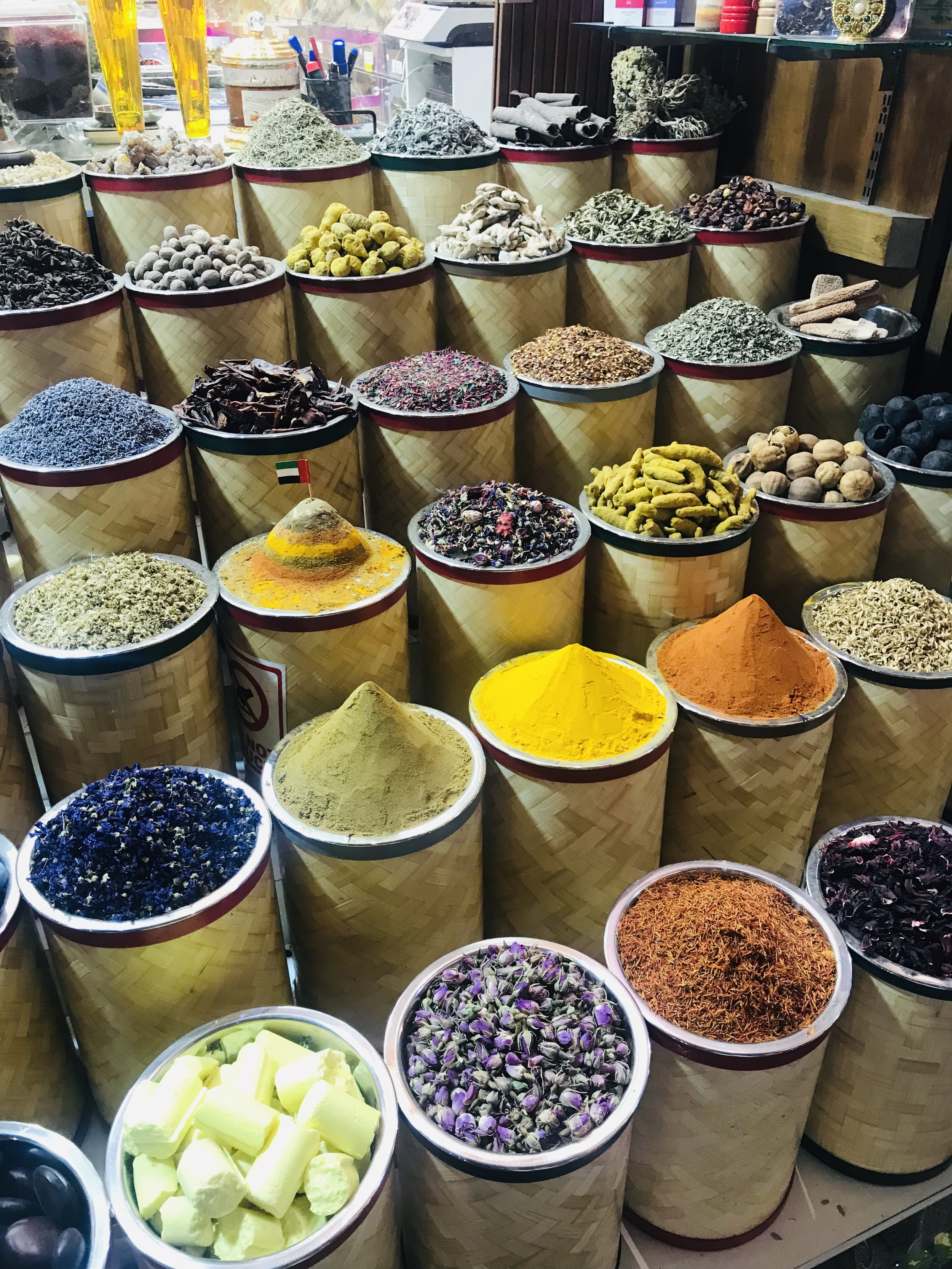 Spices galore; the fragrance that will assault your nostrils is something out of this world!