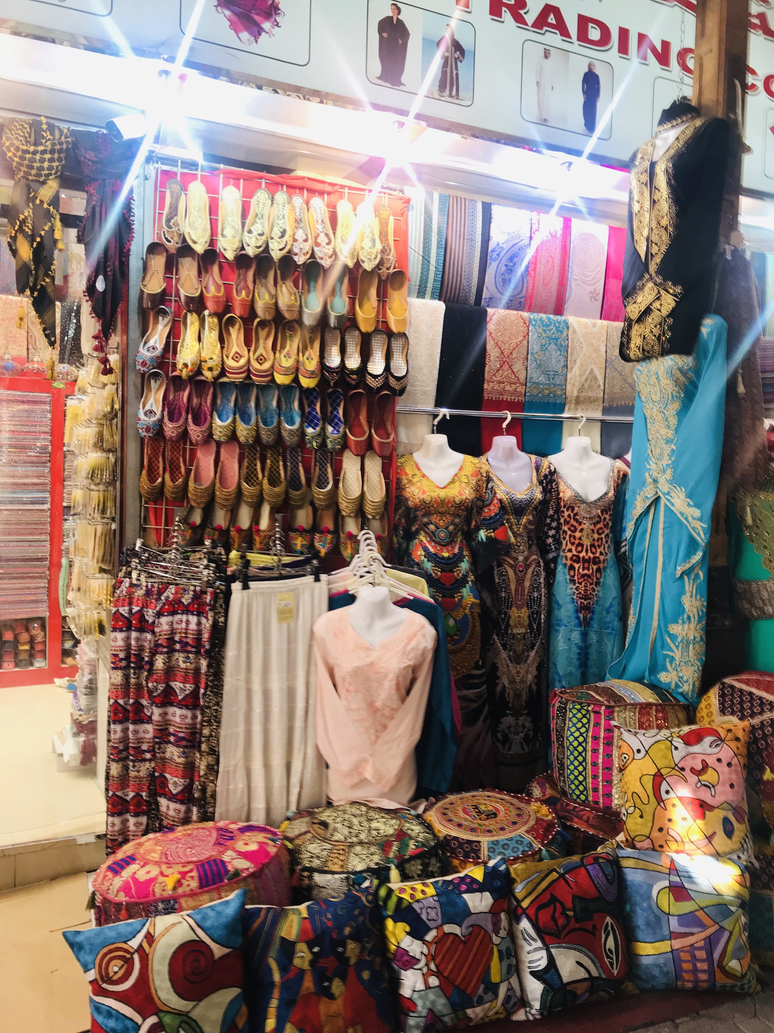 Shoes, pashminas, novelties and more