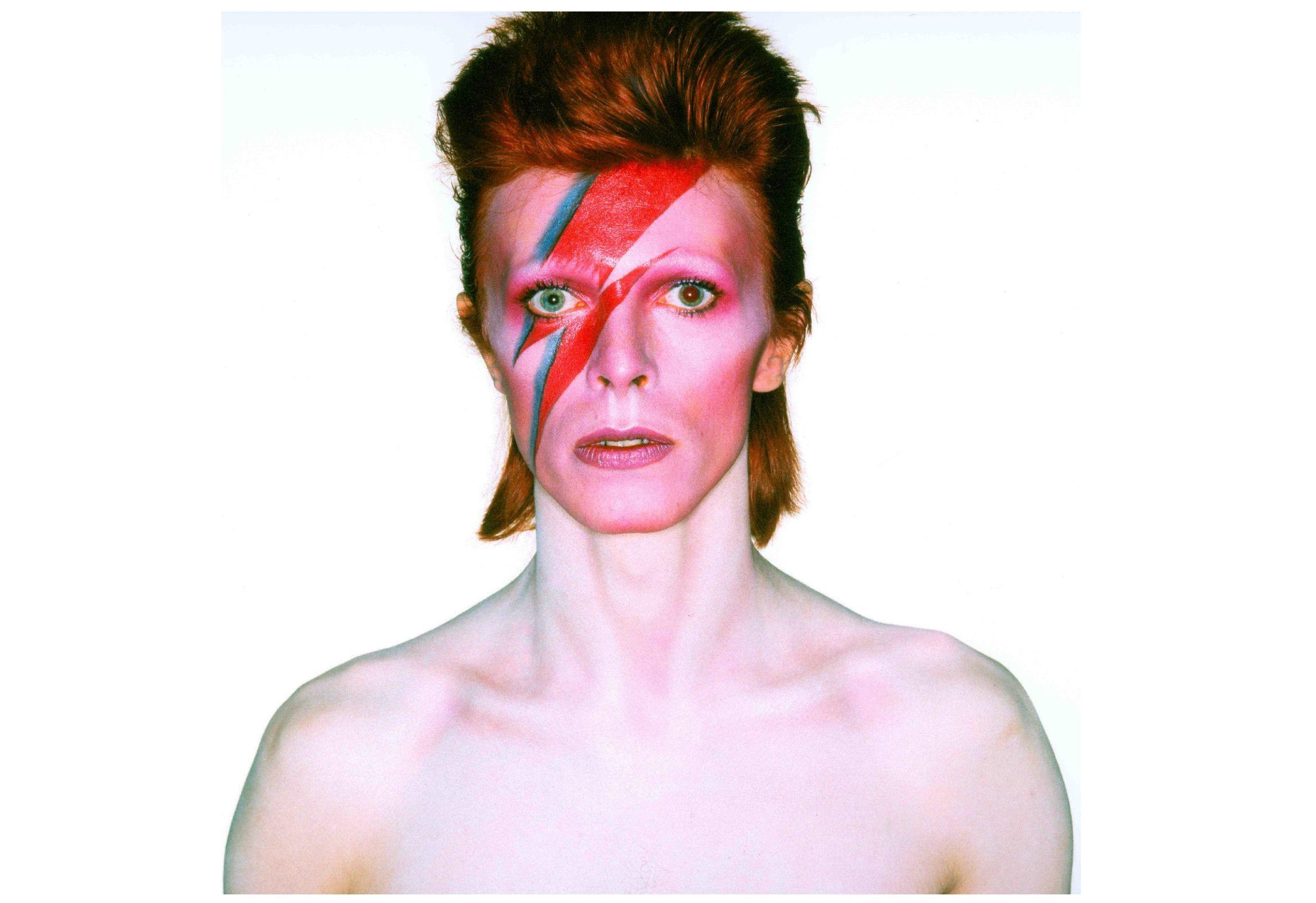 David Bowie, channelling Mercury