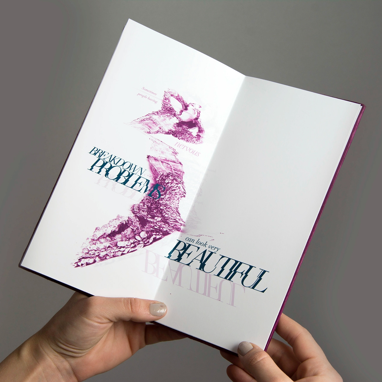 Typographic Book Layouts - Pushing Typographical Boundaries