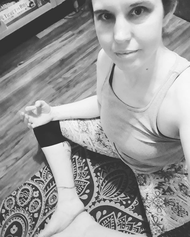 Being back on a yoga mat after too long feels like coming home. #yoga #ineededthis #selfcare #stopandbreathe