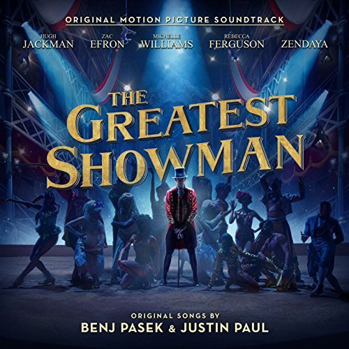Youtube link to The Greatest Showman Soundtrack