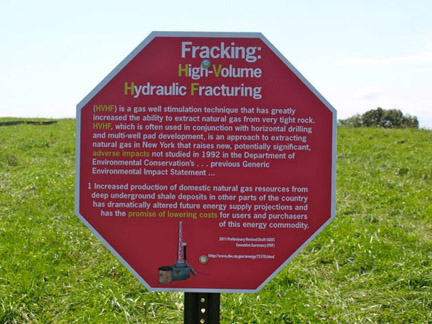 Fractoids A Sign Project About the Impact of Fracking on Landscape and Health