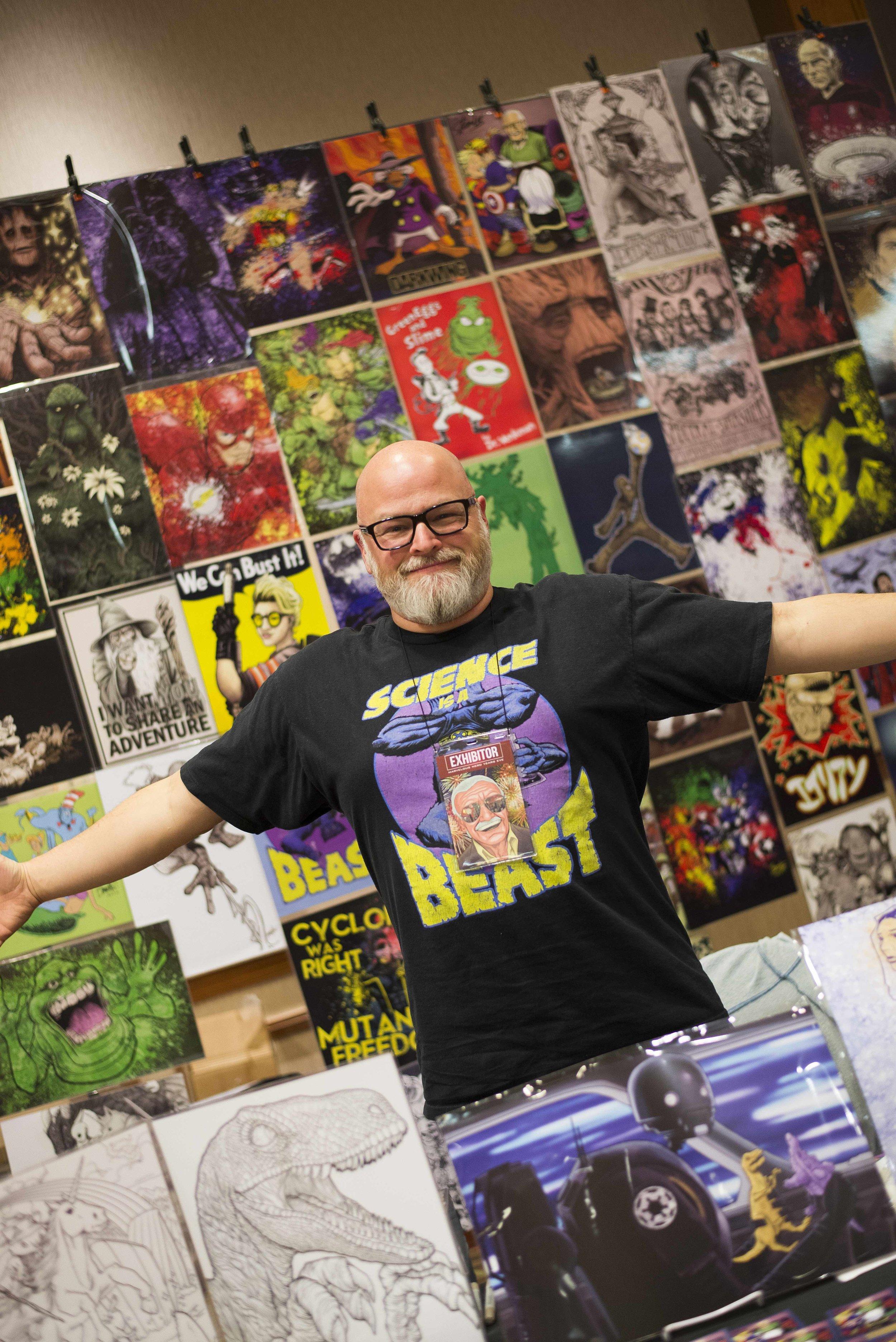 Jerry Bennett | 2018-19 SPACE Artist in Residence