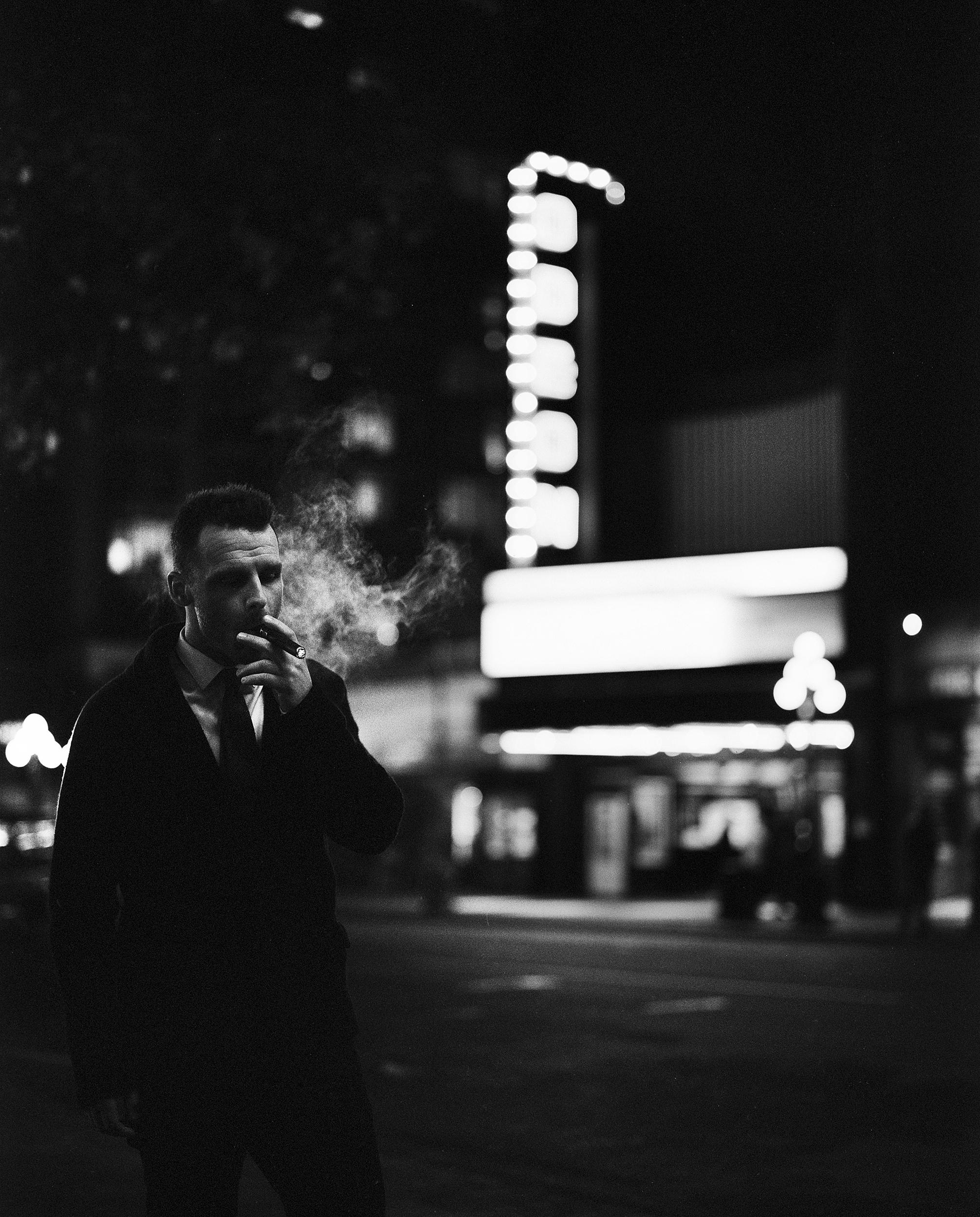 Cinestill 800T & Ilford HP5 400 At Night — Nicklaus Walter