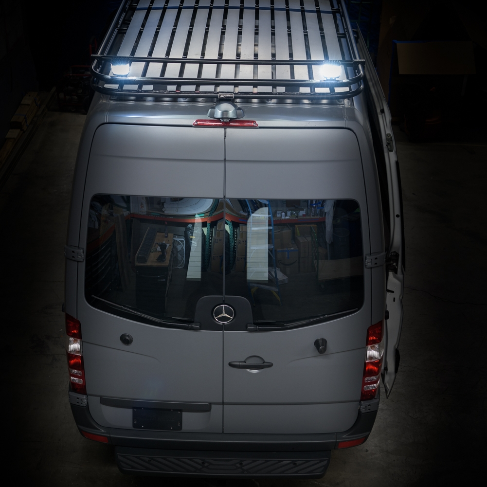 Rear Door Stock Windows for Sprinter (Driver and Passenger Side) -
