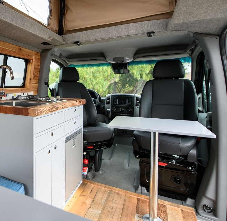 Swivel for Seats. - For Mercedes Sprinter®, Dodge Pro-Master® and Ford Transit® vans.
