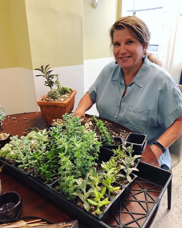 The wonderful Marsha was accepted this week into OSU's #mastergardener training class and we're so proud of her!