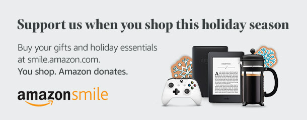 Amazon Smile - Shop for everyone on your gift list this holiday at Amazon Smile and Amazon will donate to CCHP.