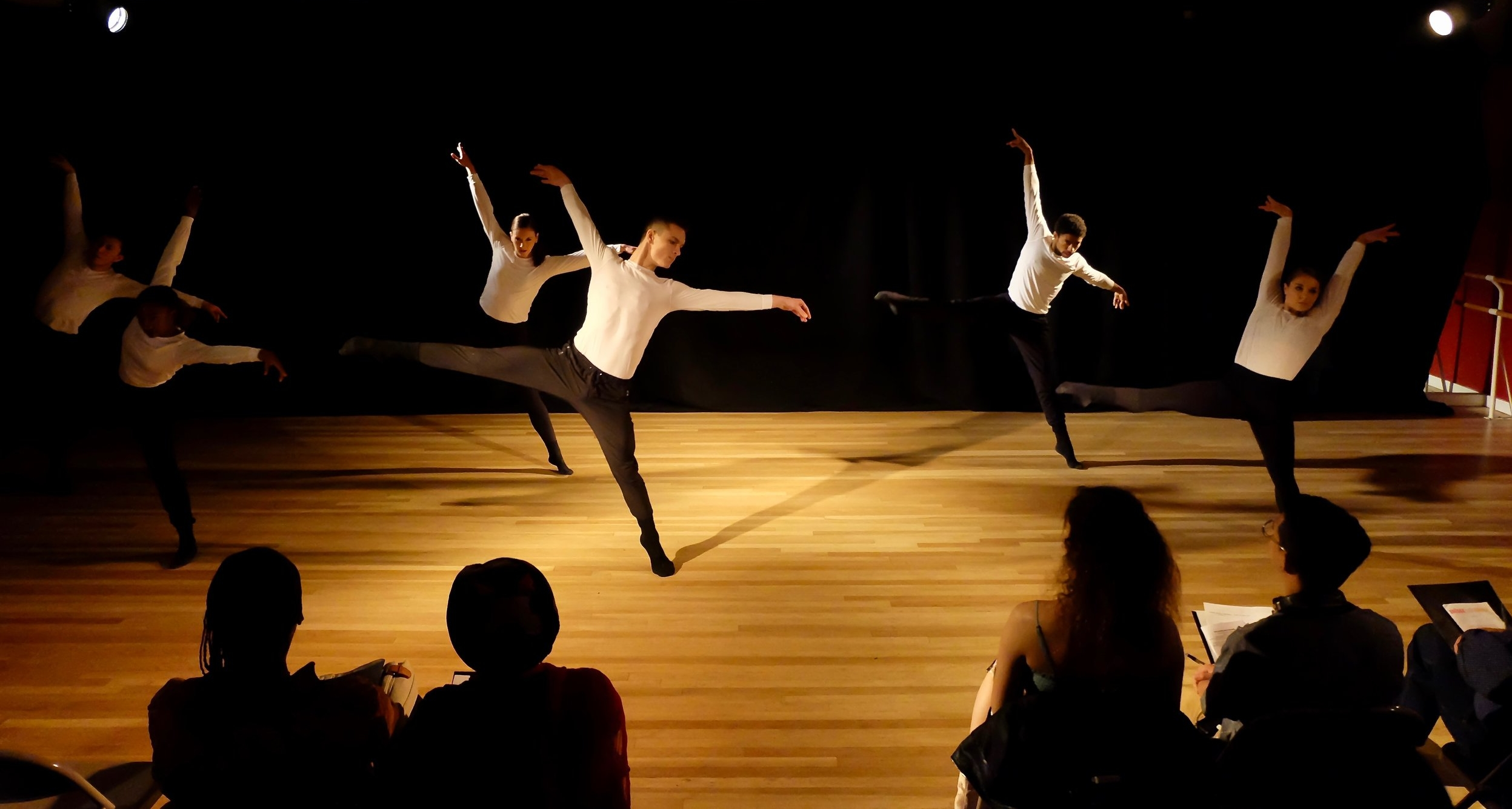 Choreographer:    Giacomo Severini Bonazelli     Dancers:    Alexander Hroshenko, Brittany Thomson, EvanMatthew Stewart, Hannah Russell, Paulo Gutierrez, and Sequoia Harris      Photo by Alexzandra Knapp