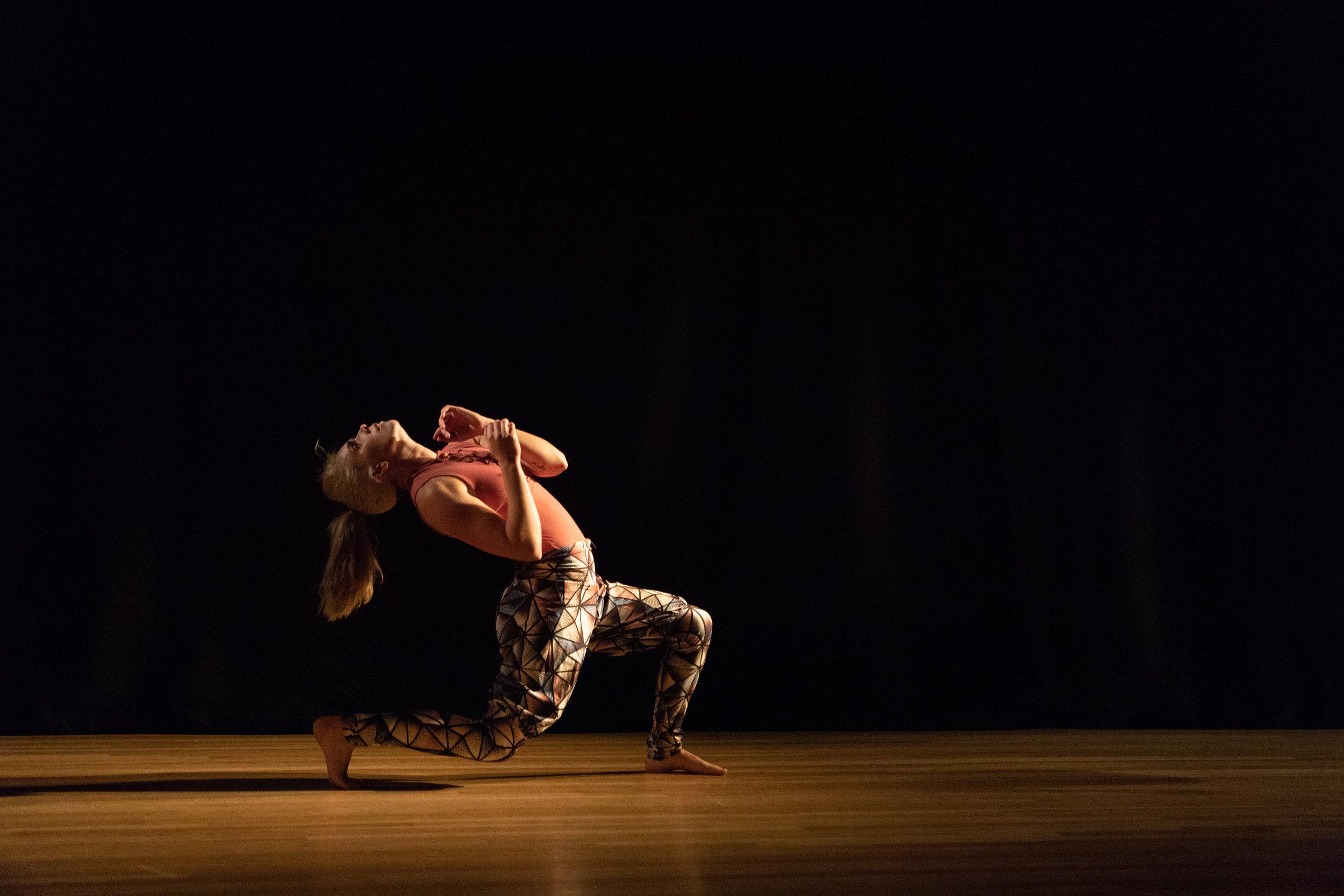 Choreograper:    Joseph Heitman     Dancer:    Dana Mazurowski    Photo by Joseph Heitman of One Day Dance