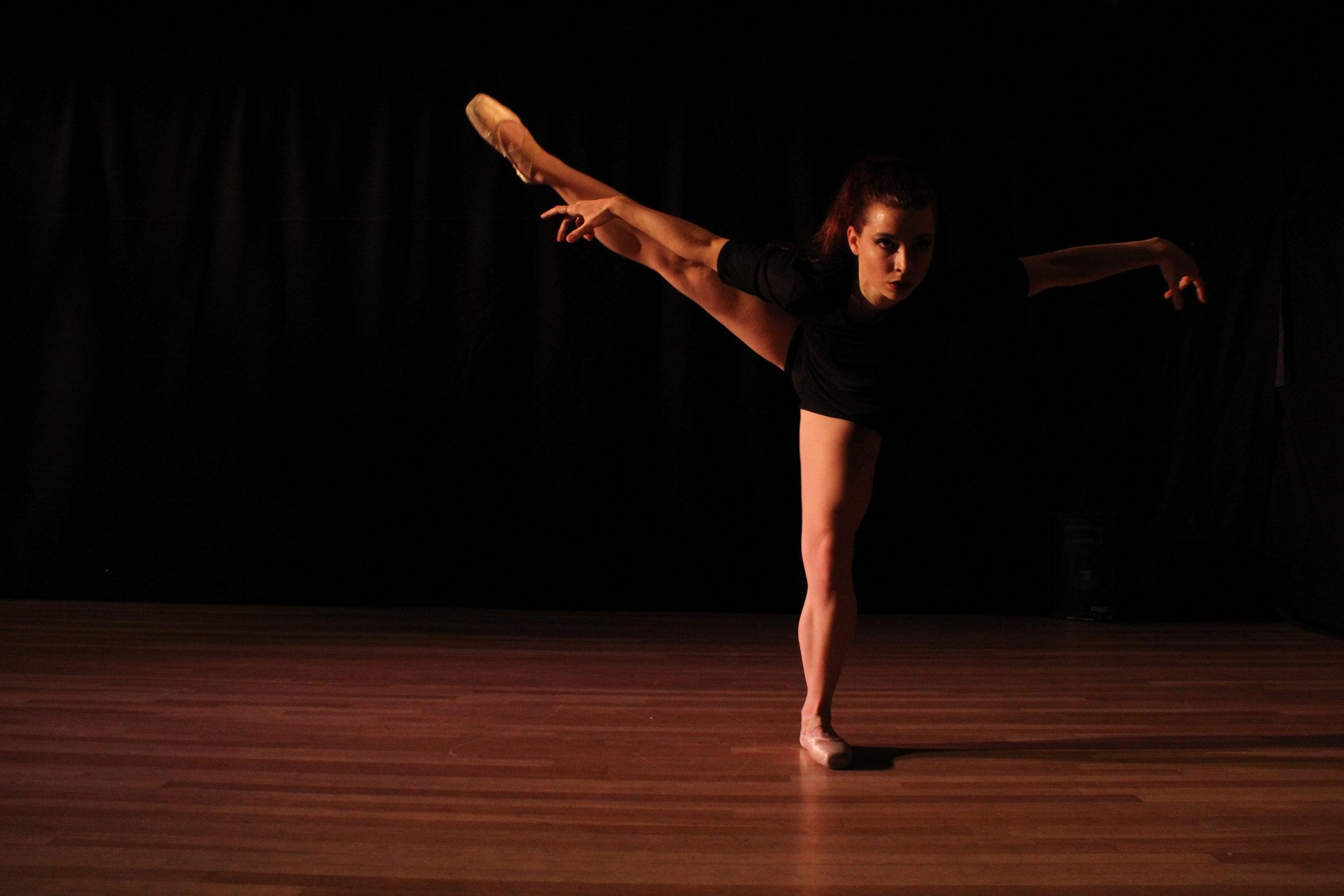 Dancer and Choreographer:    Diane Auriol    Photo by Joseph Heitman of One Day Dance